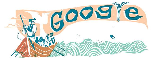 melville google doodle